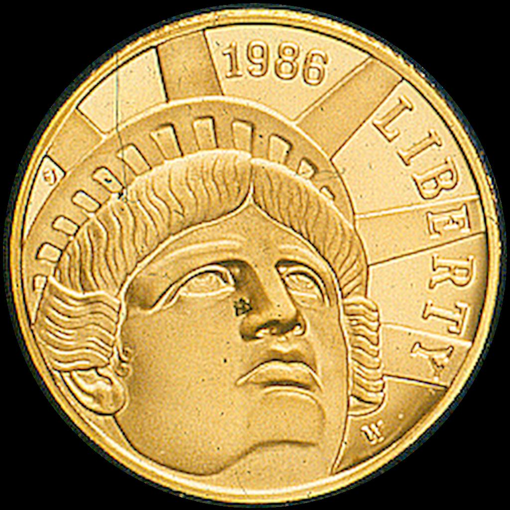 File 1986 Statue Of Liberty Coin Tif Wikipedia