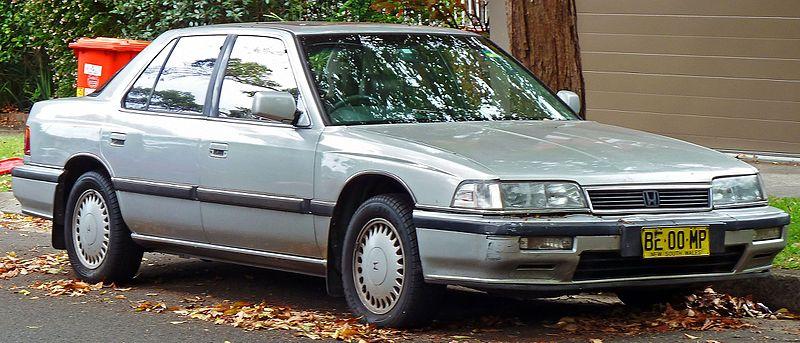 File:1990 Honda Legend (KA4) sedan (2011-01-13).jpg - Wikimedia Commons