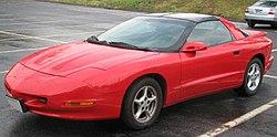 1998 pontiac firebird specs