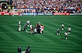 1999 FA Cup Final Manchester United celebrate.jpg