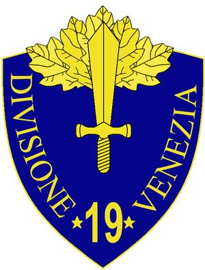 19th Infantry Division Venezia - 19th Infantry Division Venezia Insignia