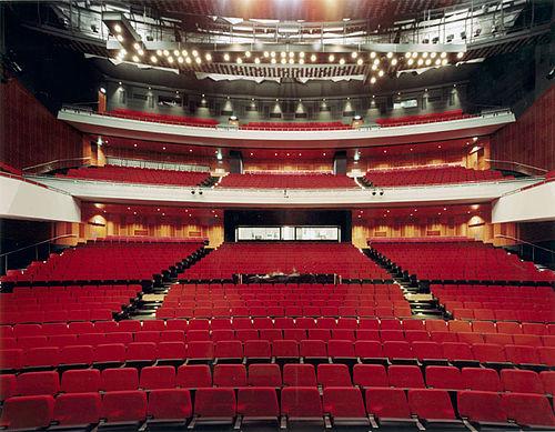 Zaal nieuwe Luxor Theater in Rotterdam