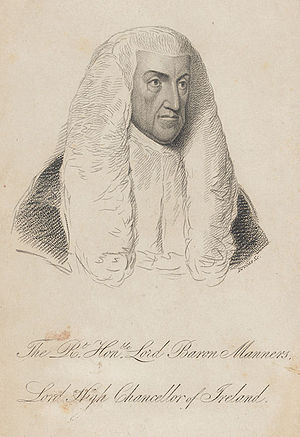 Baron Manners - Thomas Manners-Sutton,  1st Baron Manners