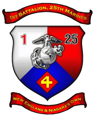 1st Battalion, 25th Marines - 1st Battalion, 25th Marines insignia