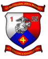 1st Battalion, 25th Marines insignia.PNG