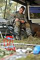 1st Lt. Jeremy Gilbert prepares a plan of action (7650737164).jpg