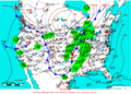 2005-02-07 Surface Weather Map NOAA.png