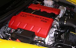 7 0 L Ls7 Engine In A 2006 Chevrolet Corvette Z06