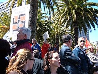 2008 Tibetan unrest - Protest in San Francisco