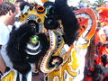 2008 Olympic Torch Relay in SF - Lion dance 60.JPG