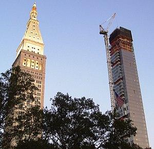 One Madison - Image: 2008 One Madison under construction 1 Sept 2008