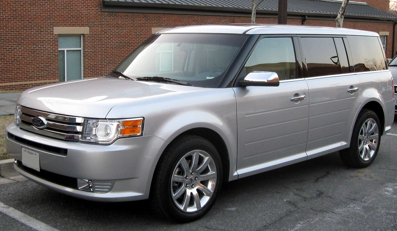 file 2009 ford flex limited wikimedia commons. Black Bedroom Furniture Sets. Home Design Ideas