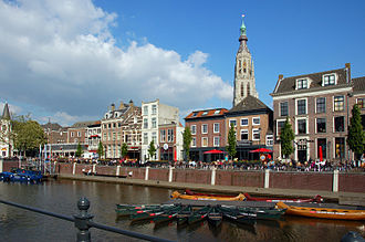 Breda - Docks in the city centre