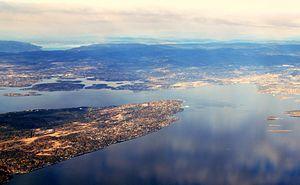 Nesoddtangen - Indre Oslofjord and Bunnefjorden from Nesodden