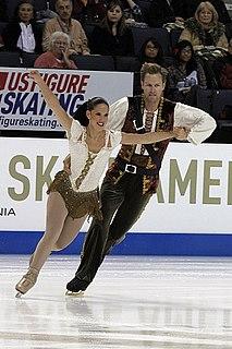 Tiffany Vise American pair skater