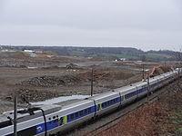 2013-01-08 Travaux LGV BPL - raccordement ouest Laval + TGV.JPG
