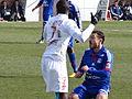 2013-03-03 Match Brest-OL - Steed Malbranque + Jonathan Ayité.JPG