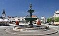 2013 Karwina, Frysztat, Żeliwna fontanna na rynku 05.jpg