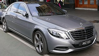 2013 Mercedes-Benz S 500 L (V 222) sedan (2015-07-26) 01 (cropped)