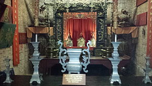Oroville Chinese Temple - Main Temple Interior