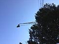 2014-10-30 11 32 25 Old street lamp on Fireside Avenue in Ewing, New Jersey.JPG