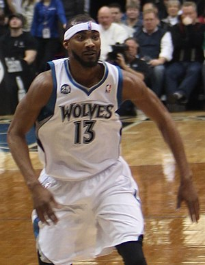 Corey Brewer - Brewer with the Timberwolves in 2014