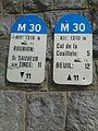 2014 Mountain pass cycling milestone - Col de la Couillole St Sauver sur Tinee.jpg