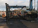 2014 at Bristol Temple Meads - demolishing the Post Office bridge 9.JPG