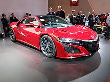 Honda NSX - Wikipedia, the free encyclopedia