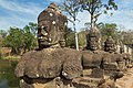 2016 Angkor, Angkor Thom, Brama południowa (17).jpg