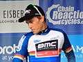 2016 Tour of Britain leader points competition after stage 7 Rohan Dennis.JPG