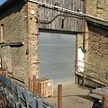 2016 at Perranwell station - goods shed end door.JPG