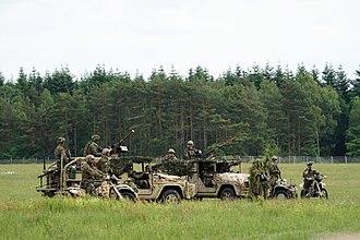 Kommando Spezialkräfte - KSK land based training operations (2017)