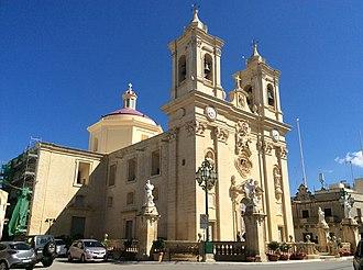 Għargħur - Għargħur parish church