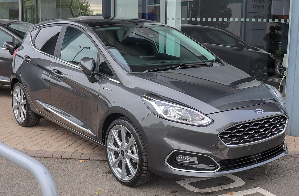 2018 Ford Fiesta Vignale Front
