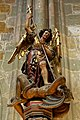 20190816 Archangel Michael sculpture, St. Vitus Cathedral, 1400 5302.jpg