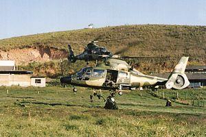 Brazilian Army Aviation Command - AS365.