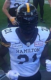 Simoni Lawrence Canadian football player
