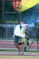 211000 - Athletics field discus Jodi Willis-Roberts action 2 - 3b - 2000 Sydney event photo.jpg