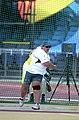 211000 - Athletics field discus Jodi Willis-Roberts action 4 - 3b - 2000 Sydney event photo.jpg