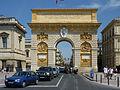 232 Montpellier L'Arc de triomphe La façade ouest.JPG