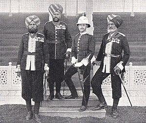 25th Punjabis - Image: 25th Punjabis Delhi Durbar, 1911