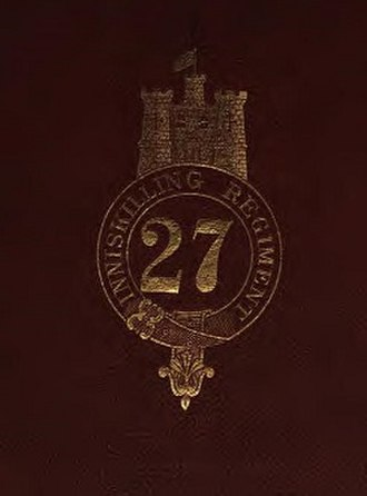 27th (Inniskilling) Regiment of Foot - Badge of the 27th (Inniskilling) Regiment of Foot