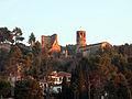 29 Castell de Gelida i església de Sant Pere del Castell.JPG