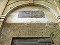 305 Entrada de la mina del Santuari (Canet de Mar), inscripció.JPG