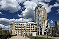 31 Westferry Circus and 46 Westferry Circus in London Borough of Tower Hamlets, spring 2013.jpg