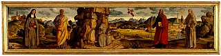 Saint Francis of Assisi receives the stigmata