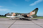 356th Tactical Fighter Squadron A-7D 70-970 at USAF Museum Side View on Ramp.JPG