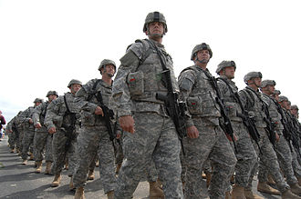 37th Infantry Brigade Combat Team (United States) - Image: 37th IBCT pass & review