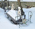 47 Seaman Avenue statuettes in the snow 4.jpg